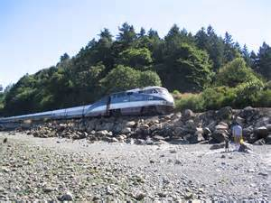 Amtrak Cascades Train