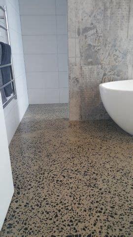 polished concrete bathroom floor concrete polished bathrooms eco grind melbourne concrete polishing