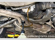BMW E46 Rear Differential Fluid Replacement BMW 325i