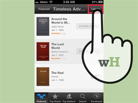 how to get free books on iphone how to read books for free on an iphone 5 steps with