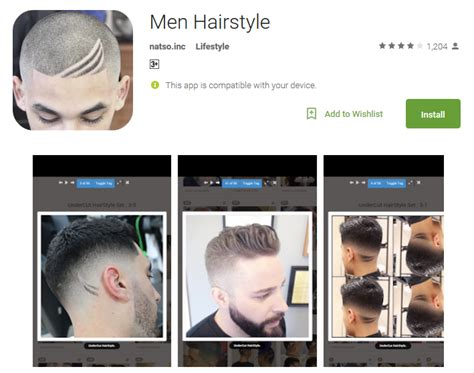 top 15 free hairstyle apps for android for virtual haircut