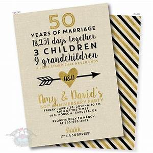 50th wedding anniversary invitations life style by With golden wedding anniversary invitations