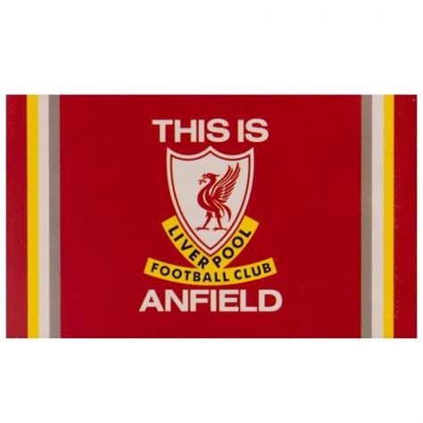 Liverpool Flagge Logo - Rot/Weiß | www.unisportstore.at