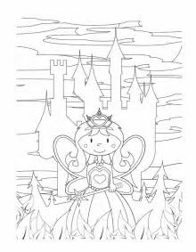 Free Printable Princess Castle Coloring Pages