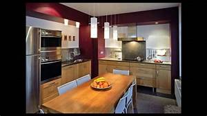 cuisine amenagee equipee style idee deco decorateur d With idee deco cuisine vintage