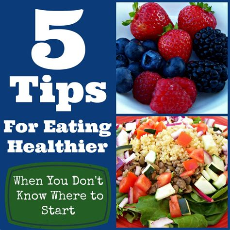 5 Tips For Eating Healthy  Healthy Eating  Berryripe