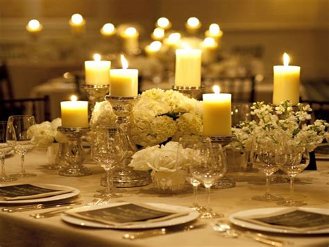 In the category of dining room contains the best selection for design. Dining Room: Beautiful Candle Centerpieces For Romantic ...