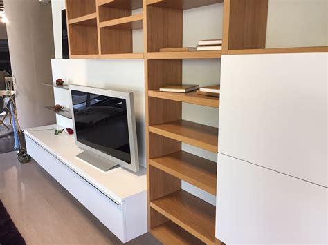 Librerie Design Outlet by Misuraemme Soggiorno Crossing Laccato Opaco Librerie