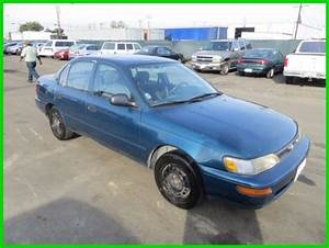 1994 Toyota Corolla Standard Used 1 6l I4 16v Manual Sedan No Reserve