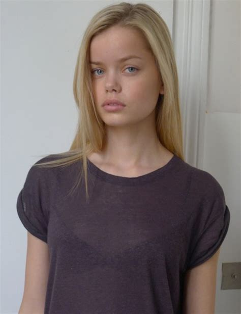 Thinspiration  Model Of The Day Frida Aasen