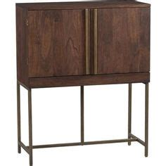 Crate And Barrel Bourne Bar Cabinet by Ladder A More And A Tree On Pinterest