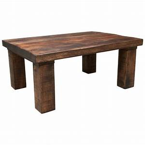 new handmade rustic solid wooden coffee table side tables With solid oak wood coffee tables