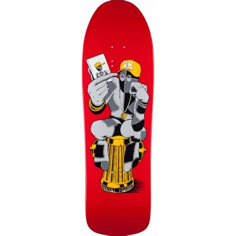 Barbee Skate Deck by Powell Peralta Barbee Hydrant Skateboard Deck 9 7 X