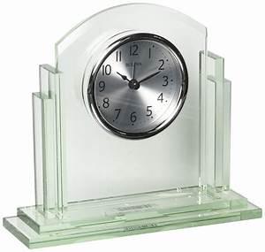 Bulova, Statement, Office, Clock, Silver