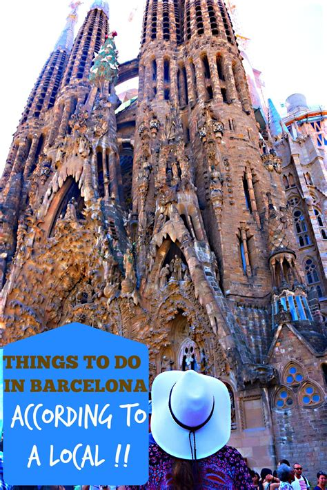 top 5 things to do in barcelona according to a local