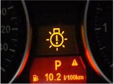 Dashboard warning lights meaning