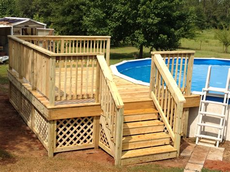 Pool Deck Layout