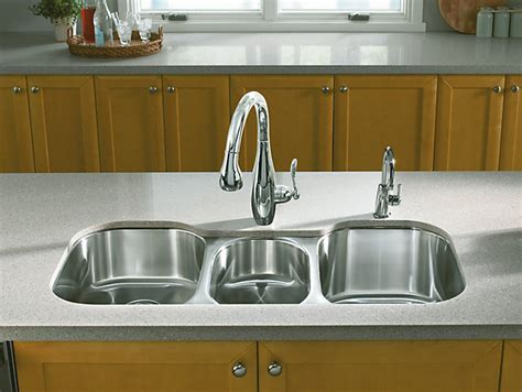 Undertone Triplebowl Undermount Kitchen Sink  K3166l