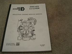 Ford Dsg-423 Industrial Engine Service Manual