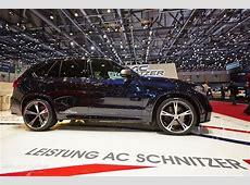 AC Schnitzer BMW X5 M50d Shines Bright in Geneva [Live