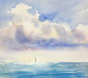 The Sky's the Limit! How to Paint the Sky In Watercolor ...