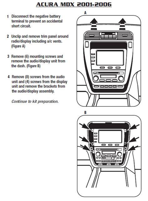 Acura Mdxinstallation Instructions