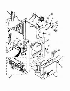 Whirlpool Model Wgd4800bq1 Residential Dryer Genuine Parts