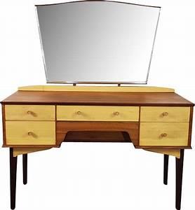 Coiffeuse Vintage Avec Miroir Par Alfred Cox Design Market