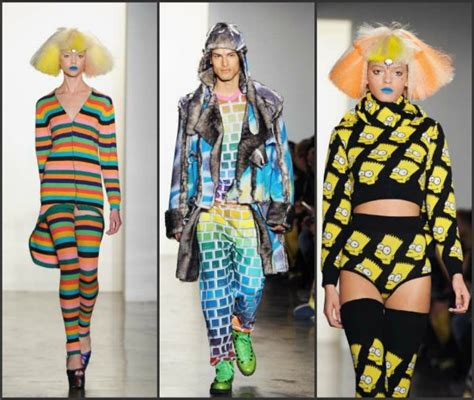 york fashion week fall  jeremy scott logs