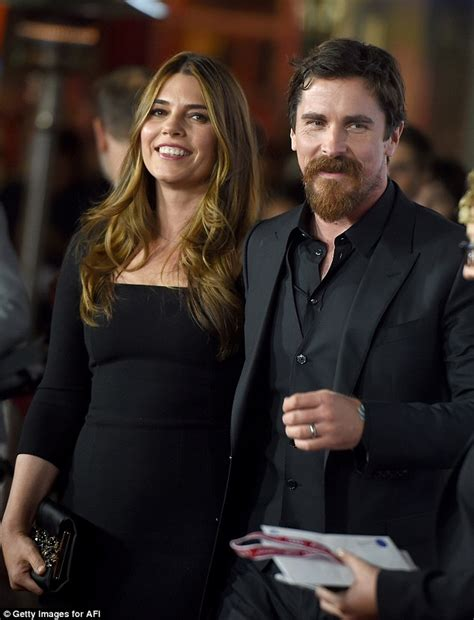Christian Bale Looks Dapper With Stunning Wife Years