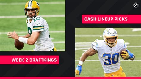 Week 2 DraftKings Picks: NFL DFS lineup advice for daily ...