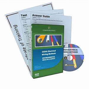 Osha Electrical Wiring Methods Training Dvd Video