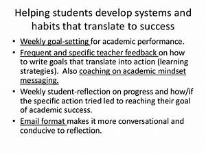 Using Frequent and Specific Feedback to help Students ...
