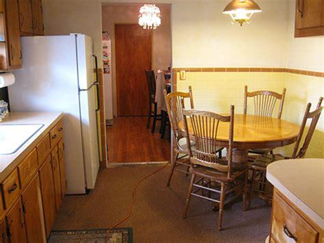 yellow and brown kitchen ideas retro decorating ideas for angela 39 s 1956 kitchen retro