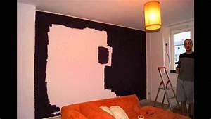 Wand Stellenweise Streichen : stop motion wand streichen in 16 sekunden youtube ~ Watch28wear.com Haus und Dekorationen