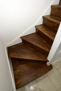 wood stair finishes stains wood stairs