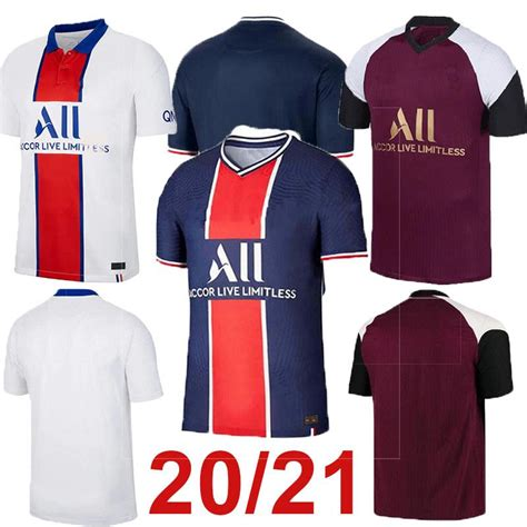 Available in men's & youth sizes. 2020 New 2020 2021 Paris Soccer Jersey MBAPPE DI MARIA ...