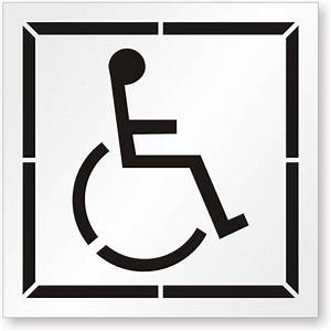 handicapped parking symbol clipart best With disabled parking template