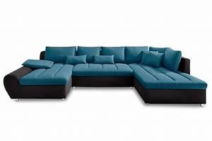 Xxl Sofa Mit Schlaffunktion : sit more wohnlandschaft bandos xxl mit schlaffunktion blau sofas zum halben preis ~ Bigdaddyawards.com Haus und Dekorationen