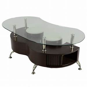 palermo contemporary glass coffee table in brown buy With palermo coffee table