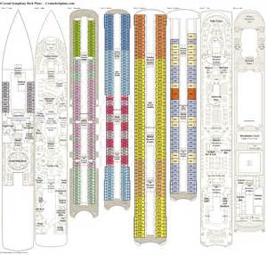 symphony deck plans diagrams pictures