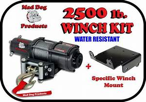 2500lb Mad Dog Winch Mount Combo 2016