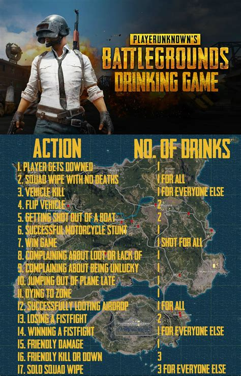 pubg drinking game latestgames drinking games games