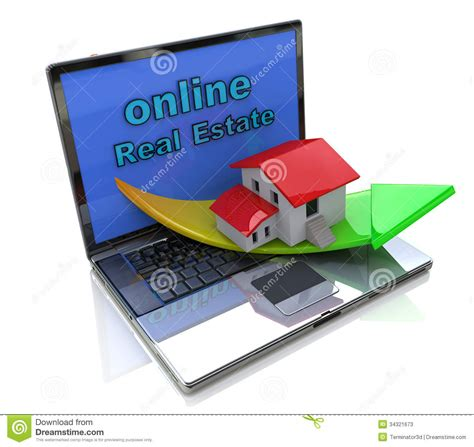 Online Real Estate Stock Photos  Image 34321673