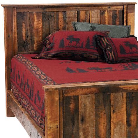 rustic wood headboard barnwood traditional headboard