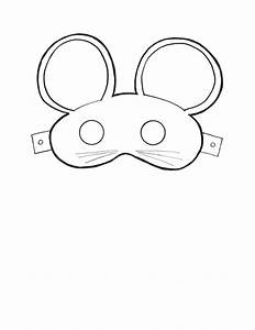 printable mouse masks masks and costumes pinterest With mouse mask template printable