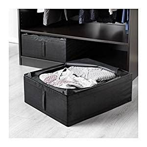ikea kitchen storage boxes ikea skubb underbed storage box black 2 pack 4564