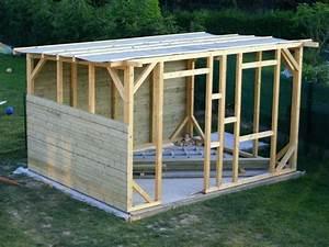 Construire Un Abri De Jardin En Parpaing : plan abri bois s a com 2 plan pour abri camping car en ~ Melissatoandfro.com Idées de Décoration