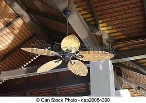 Ventilateur Plafond Bois : chauffage climatisation ventilateur de plafond bois exotique ~ Premium-room.com Idées de Décoration