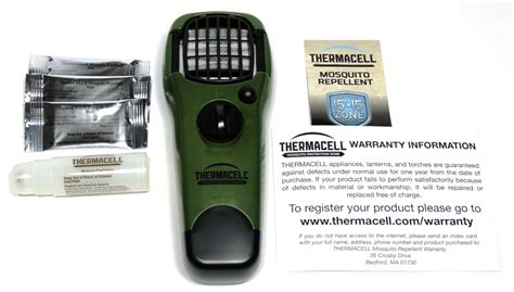 thermacell mosquito repellent review the gadgeteer